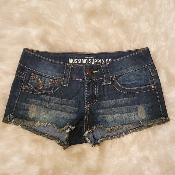 Mossimo Supply Co. Pants - Distressed Jean shorts